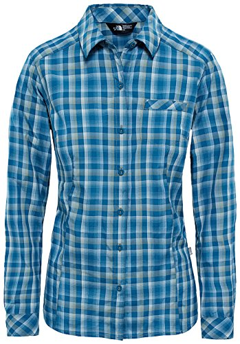 The North Face Zion Outdoor Damen-Hemd XS blue coral plaid