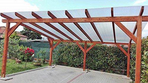 Markus policarbonato alveolado Makrolon 1000 x 1050 mm grosor 4 mm 2 paredes transparente: Amazon.es: Bricolaje y herramientas