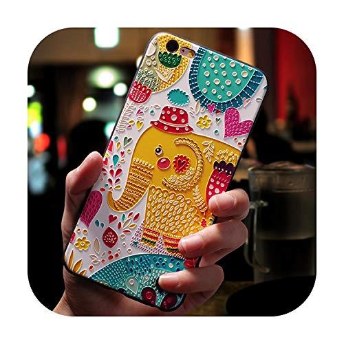 Phonecase - Carcasa de silicona para iPhone X, XR, 6, 6S, 7, 8 Plus, 5 5S, SE 2020 11 Pro, para iPhone Xs Max Coque Cover