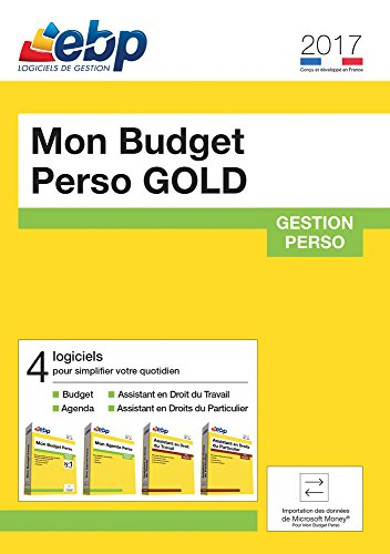 EBP Mon Budget Perso GOLD 2017 [Téléchargement PC]