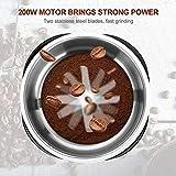 Zoom IMG-1 macinacaffe elettrico 200w con contenitori