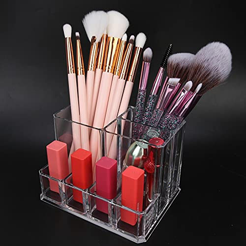 Demeras Organizador de Maquillaje Caja de Almacenamiento de cosméticos multifunción para Belleza para el hogar para lápices labiales