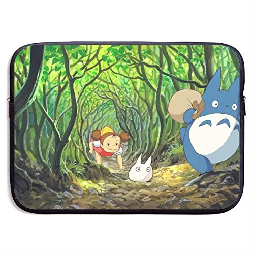 Anime My Neighbor Toto-ro Laptop Sleeve Bag Case,Waterproof Laptop Briefcase Neoprene Soft Carring Tablet Travel Case,13 inch