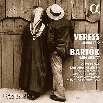 Veress String Trio / Bartók Piano Quintet