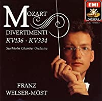 Mozart Divertimenti in D K 334, 136; March in D K 445 (EMI)