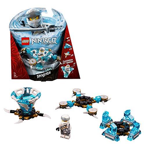 LEGO Ninjago - Spinjitzu Zane, peonza azul y blanca divertida de ninja de juguete (70661) , color/modelo surtido