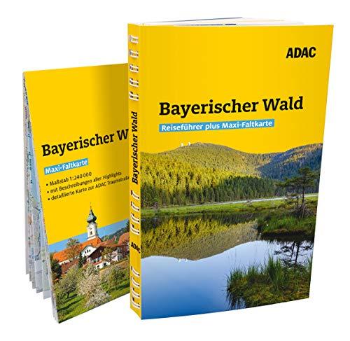 ADAC Reiseführer plus Bayerischer Wald: Mit Maxi-Faltkarte und praktischer Spiralbindung