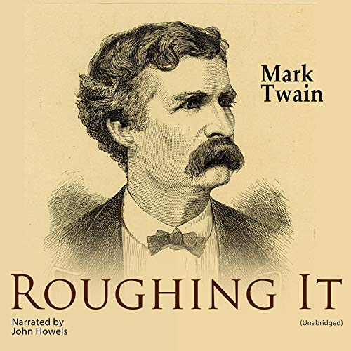 Roughing It audiobook cover art