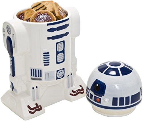 Star Wars Star147 - R2D2 3D Keksdose (Keramik, mit Deckel, 27 x 15 cm)