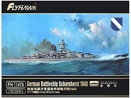 FLYHAWK - German Battleship scharnhorst 1940