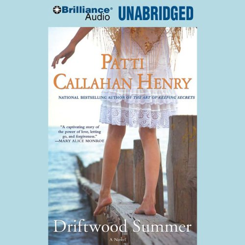 Driftwood Summer audiobook cover art