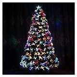 Kfdzsw Árbol de Navidad Artificial 1.2 m -3m Colorido...