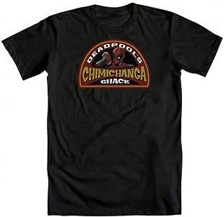 Deadpool Chimichanga Shack Adult T-Shirt