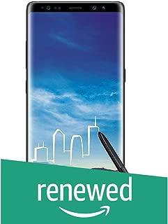 (Renewed) Samsung Galaxy Note 8 (Midnight Black)