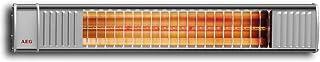 AEG 229944 - Ir Prima 1650 calefactor radiante de onda corta infrarroja 1650W Para terraza, balcón, jardín de invierno