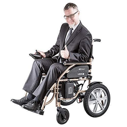 ZCPDP Elektrische rolstoel, licht, draagbaar, elektrische rolstoel, intelligente handleiding (mogelijk niet beschikbaar in het Nederlands), voor oudere mensen met een handicap