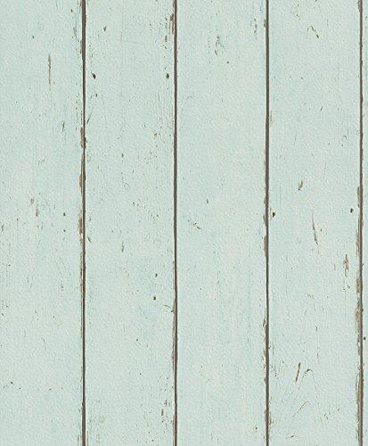 Rasch paperhangings 479607Tapete Wandverkleidung,–blau