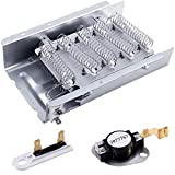 279838 Dryer Heating Element 3977767 3392519 Dryer Thermostat kit Dryer Thermal fuse Compatible with whirlpool, kenmore, roper, maytag, estate, inglis, kitchenAid, crosley, amana etc.