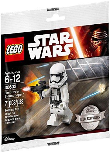 Lego Star Wars 30602 första beställning Stormtrooper Minifigure förseglad plastpåse – artikel 30602 – helt ny och förseglad