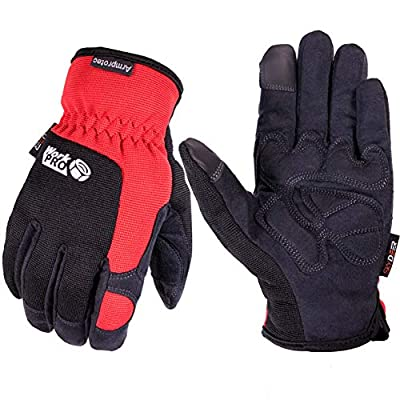 SKYDEER Hi-Performance Synthetic Leather Utility Grip Work Gloves (SD8820)