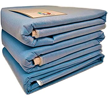 Washable Underpads 36 x54  with 4-Layer Protection [3 Pack] Reusable Waterproof Absorbent Pads for Sofa and Mattress - Incontinence Pads for Adults Seniors Children & Pets + a Vakly Incontinence Guide
