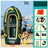 Ljf Juego de Kayak Inflable Advanced Element, 236x114cm