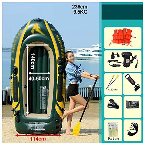 Ljf Juego de Kayak Inflable Advanced Element, 236x114cm