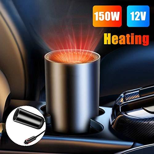 Hjiaqi - lovely Entfroster Auto-Heizung Wärmer,12V 150W Automobilheizung Elektrische Heizung Heizventilator Luftreinigung Tragbarer elektrischer Trockner (Color Name : Ordinary Heater Only)