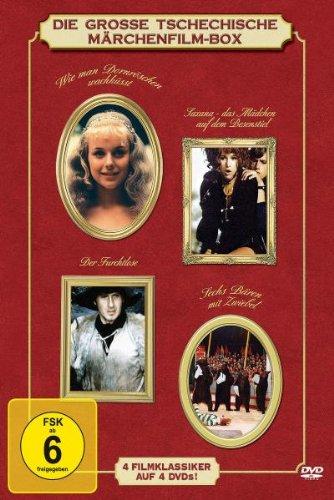 Die große tschechische Märchenfilm-Box [4 DVDs]
