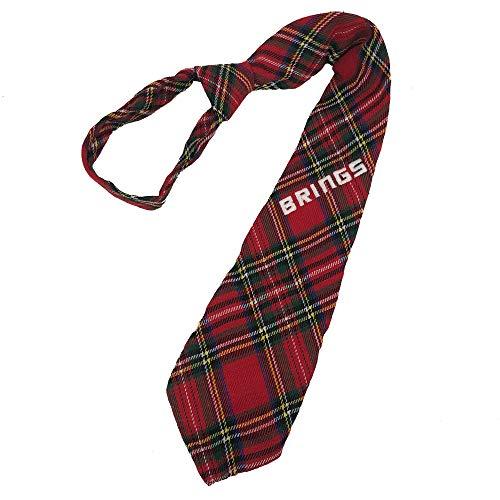 WOOOOZY Krawatte Brings, kariert