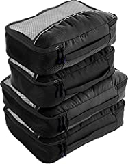 PACK YOUR CLOTHES AND ACCESSORIES FOR FAST ACCESS and keep everything well organized in a suitcase or carryon! Pack according to travel destinations, weather or vacation events. Share a large bag with family members, each with his/her own color of ul...