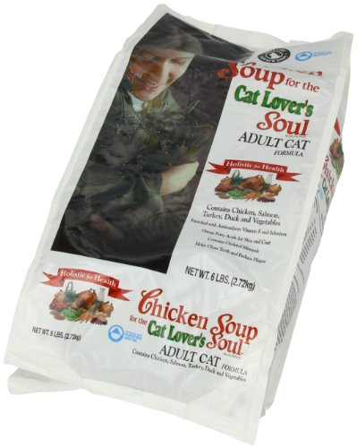 Chicken Soup For The Cat Lover'S Soul Dry Cat Food For Adult Cat, Chicken Flavor, 6 Pound Bag