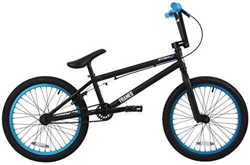 Framed Attack LTD BMX Bike Black/Blue Mens Sz 20in
