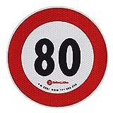 Lampa 98442 Contrassegno Limite velocità - 80 Km/h...