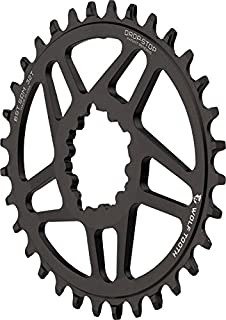 Wolf Tooth Components Elliptical Drop-Stop Chainring: 32T SRAM Direct Mount