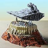 Xshion Juego de destructor de estrellas Technik modelo The Empire Over Jedha City, Mould King 21007, 5162Tile MOC, juego de construcción de maquetas, compatible con Lego