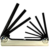 EKLIND 20912 Steel Handle Fold-up Hex Key allen wrench - 9pc set SAE Inch Sizes .050-3/16