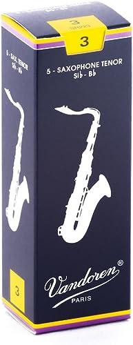 box of 5 Plasticover #3 1//2 Tenor Sax Reeds