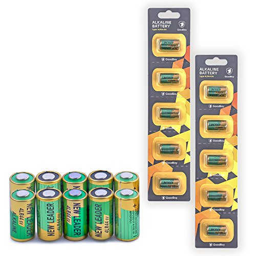 Bark Collar Batteries by GoodBoy 10-Pack (2x5) 6V Alkaline Battery 4LR44 (Also Known as PX28A, A544, K28A, V34PX)