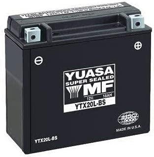 Yuasa Maintenance Free Battery - YT12A-BS YUAM32ABS (PLT-180)