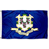 Sports Flags Pennants Company State of Connecticut Flag 3x5 Foot Banner