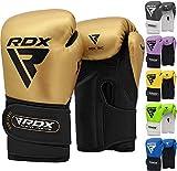 RDX Guantoni Boxe Bambini per Allenamento & Muay Thai | Maya Hide Pelle Junior Combattimento Guanti da Sacco per Kickboxing, Sparring | Grande per Kids Sacchi Pugilato, Punzonatura, Boxing Gloves