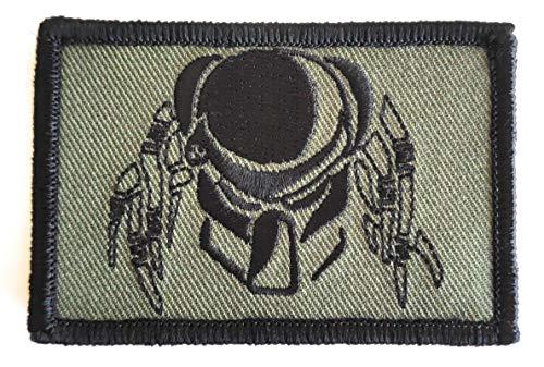 Titan One Europe - Tactical Predator Camo Green Operator Morale Gear Patch Raubtier Alien Taktisch Klettband Aufnäher