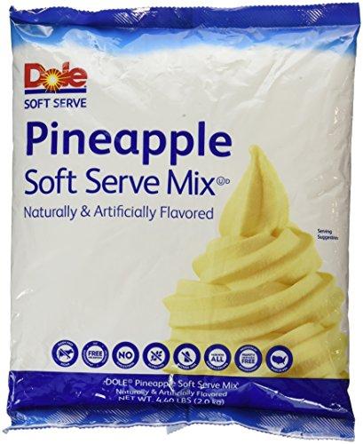 Dole Soft Serve Mix 4.75 Pound, pineapple, 70.4 Ounce