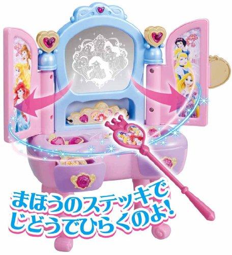 Disney princess Magical jewelry dresser (japan import)