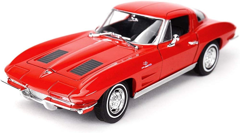 nueva gama alta exclusiva SXET-Coche modelo Modelo de aleación aleación aleación nostálgico Modelo de Coche clásico de Juguete Coche 1 24 Modelo de fundición a presión Modelo de decoración de Ornamentos (Color   Rojo)  la mejor selección de