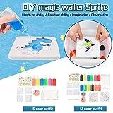 JIAGO 6/12 Farben DIY handgemachtes Hydrogel Kinderspielzeug, Schleim-Kit, Mini-Tiermodell,...