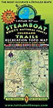 Steamboat – Routt National Forest Trails Recreation Topo Map