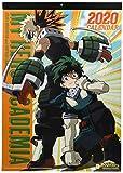My Hero Academia (Boku no Hero Academia) 2020 Try-X Wall Calendar Calendario de Pared Oficial Japón Anime