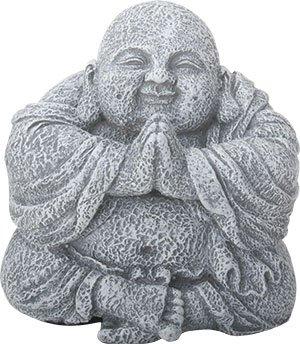 Ebros Gift Hotei Buddha Figurine Lucky Charm 3.75' H Zen Monk of Prosperity Meditating